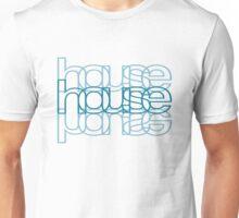 House Mirror Blue Unisex T-Shirt