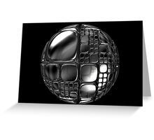 Cubed sphere Greeting Card