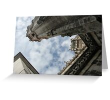 Sky Line Greeting Card