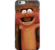 Muppet Maniacs - Animal as Buffalo Bill iPhone Case/Skin