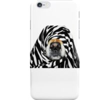 Guess Who! (Molly as zebra) iPhone Case/Skin