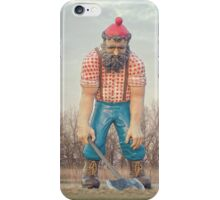 Missing Babe iPhone Case/Skin