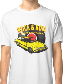 Rock & Roll Stops the Traffic Classic T-Shirt