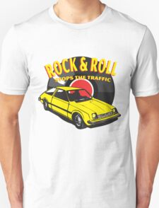 Rock & Roll Stops the Traffic Unisex T-Shirt