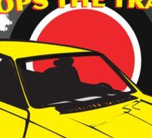 Rock & Roll Stops the Traffic Sticker