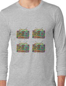 Boom box mini  Long Sleeve T-Shirt