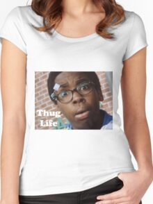Cookie- Thug Life Women's Fitted Scoop T-Shirt