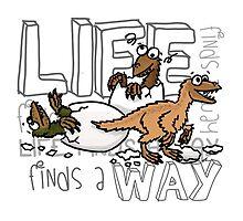 Baby dinosaurs by pakozoic
