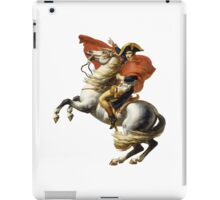 Napoleon on his horse iPad Case/Skin