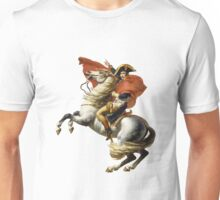 Napoleon on his horse Unisex T-Shirt