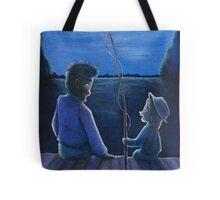 Huck Finn and Jim Tote Bag