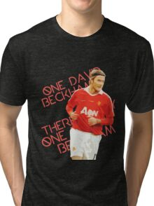 There's Only One David Beckham Tri-blend T-Shirt