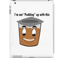 Pudding iPad Case/Skin