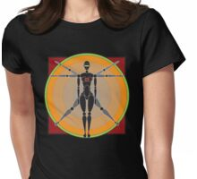 Anatomy Of An Android II Womens Fitted T-Shirt