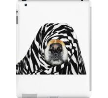 Guess Who! (Molly as zebra) iPad Case/Skin