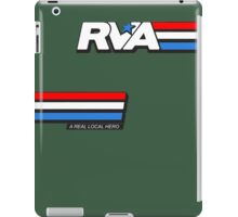RVA - A Real Local Hero! USA iPad Case/Skin