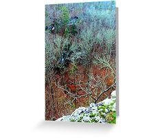 POINT OF VIEW Greeting Card