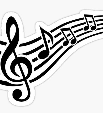 Notes music Sticker
