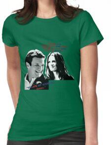 Boyhood Dream Color Splash Womens Fitted T-Shirt
