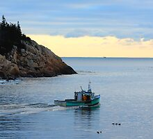 Heading Out At 1st Light by HALIFAXPHOTO