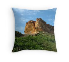 Up in the hills Throw Pillow