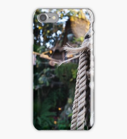 Tarzan's Tree House iPhone Case/Skin