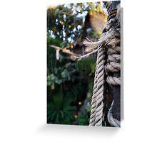 Tarzan's Tree House Greeting Card