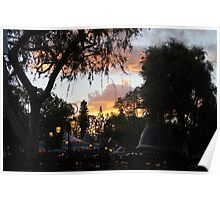 Fantasyland Sunsets Poster