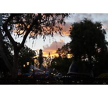 Fantasyland Sunsets Photographic Print