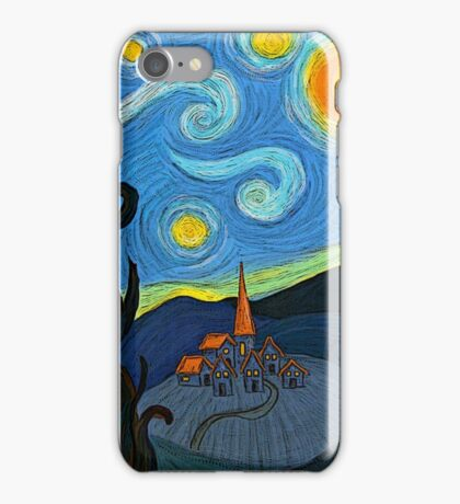 My own starry night iPhone Case/Skin