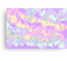 pastel clouds  Canvas Print