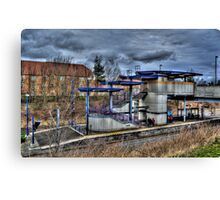 Northumberland Park Metro Station Canvas Print