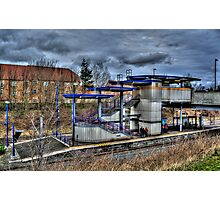 Northumberland Park Metro Station Photographic Print