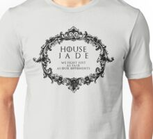House Jade (black text) Unisex T-Shirt