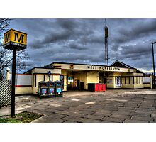 West Monkseaton Metro Station Photographic Print