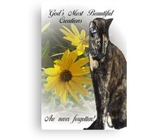 God's Most Beautiful Creations Canvas Print