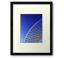 Glass Panel Abstract 3 Framed Print