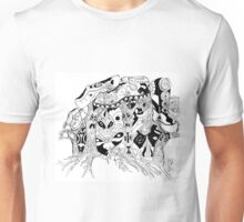 The Trees and Their Shoes Unisex T-Shirt