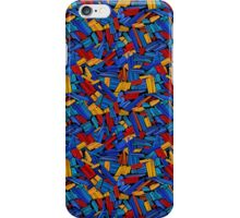 Blue Puzzle Design iPhone Case/Skin