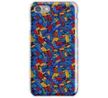 Blue Puzzle Design iPhone Case/Skin