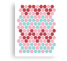HEXAGONe With The Wind Canvas Print