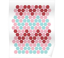 HEXAGONe With The Wind Poster