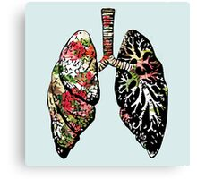 Smokers Lung Canvas Print