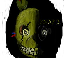 Five Nights at Freddy's - Spring Trap - Ready for Him? by quikdraw