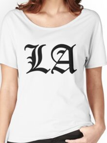 LA  Women's Relaxed Fit T-Shirt