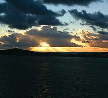 new caledonian sunset  by teegan