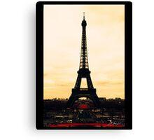 infrared Eiffel Tower Canvas Print