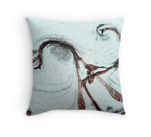 Mating dance Throw Pillow