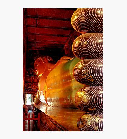 Reclining Budda at Wat Pho Photographic Print