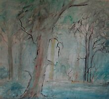 Old and faded scraps of paper-2 by catherine walker